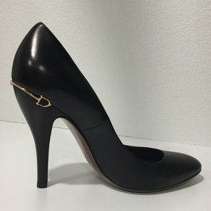 Gucci Horsebit Black Heels